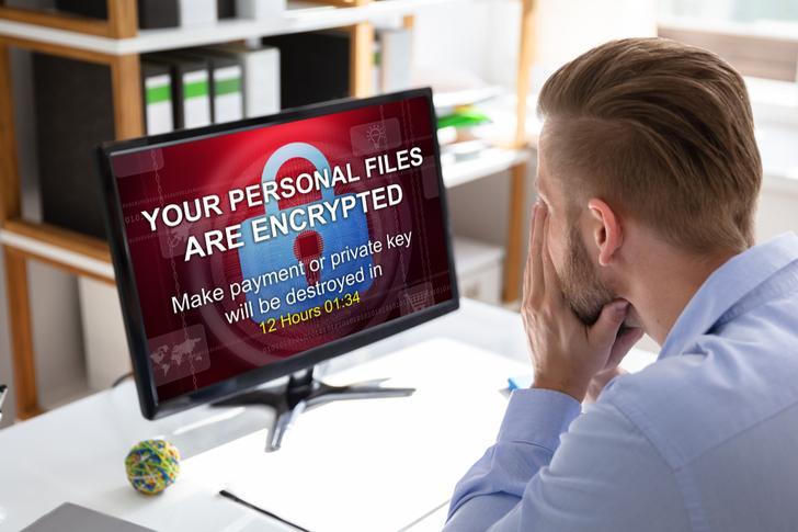 Getroffen door ransomware
