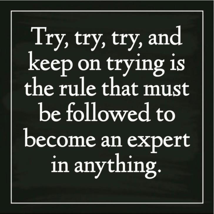 Ergens een expert in worden