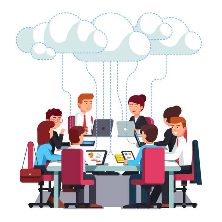 Werken met teamdrives in de Cloud