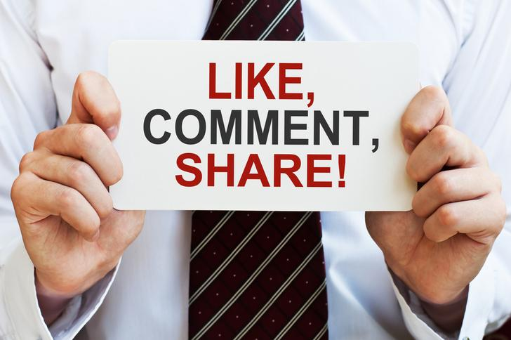 Like comment share