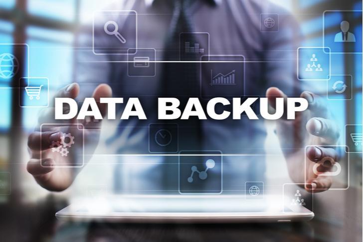 Dagelijkse data back-ups