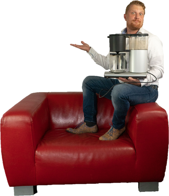 Marcel-bank-koffiezetapparaat