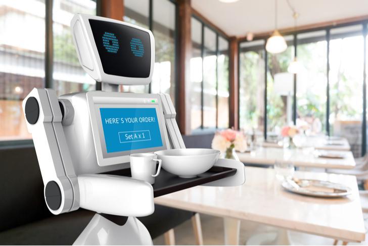 Google robot in huis