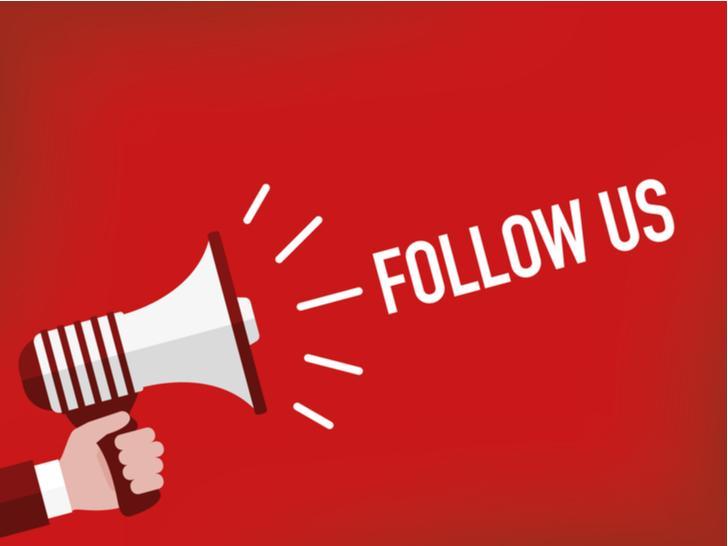 Volg ons op social media